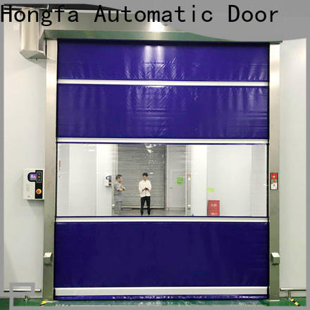 Hongfa high-speed exterior roll up door in different color for factory