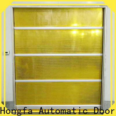 Hongfa interior shop doors suppliers for supermarket