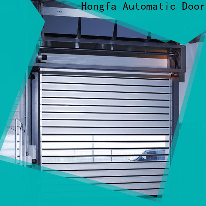 Hongfa fast aluminum door for business for parking lot