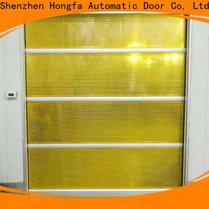 latest rapid roll up door pvc supply for food chemistry textile electronics supemarket refrigeration logistics
