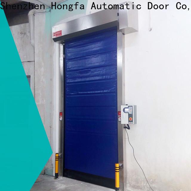 industrial freezer doors shutter marketing for supermarket