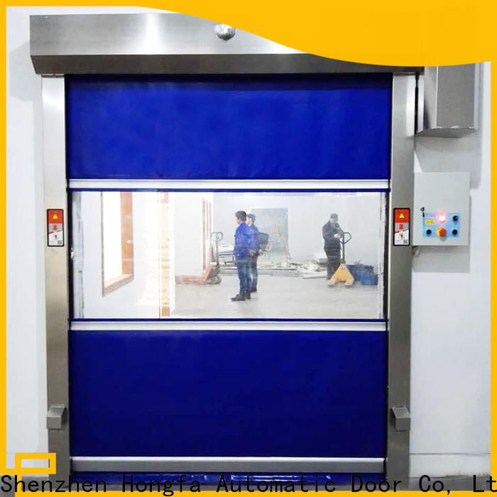 Hongfa efficient overhead fire door widely-use for storage