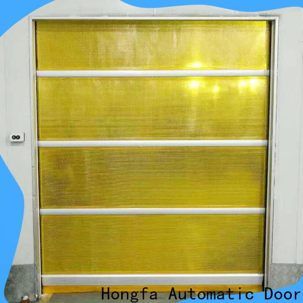 Hongfa shutter rapid roller doors overseas market for storage