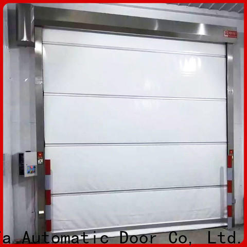 Hongfa clear cheap roll up doors supply for supermarket