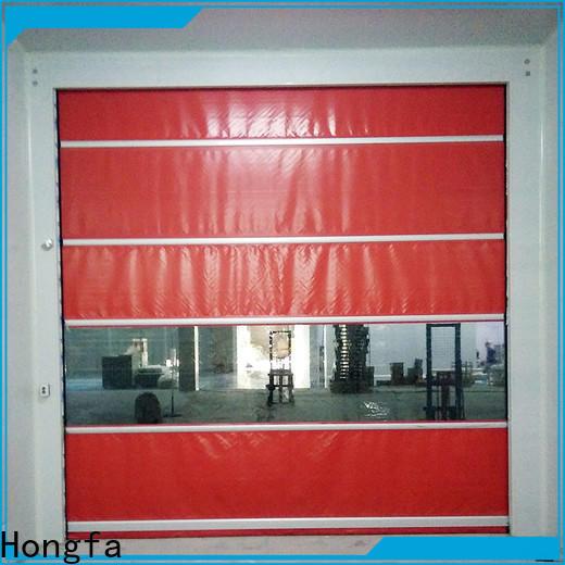 Hongfa fast high door supplier for food chemistry textile electronics supemarket refrigeration logistics