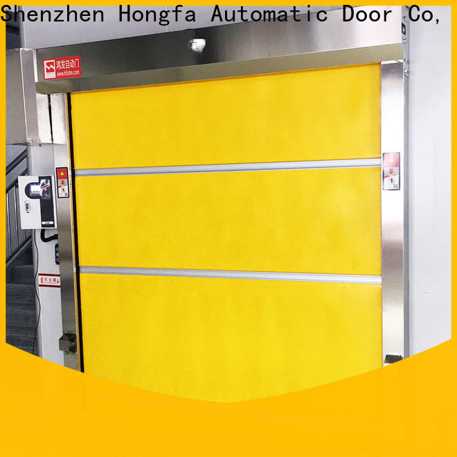 Hongfa action high speed roll up door manufacturers factory for factory