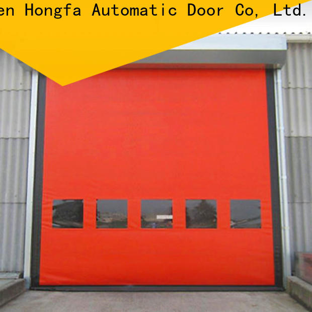Hongfa perfect residential roll up garage doors factory for supermarket