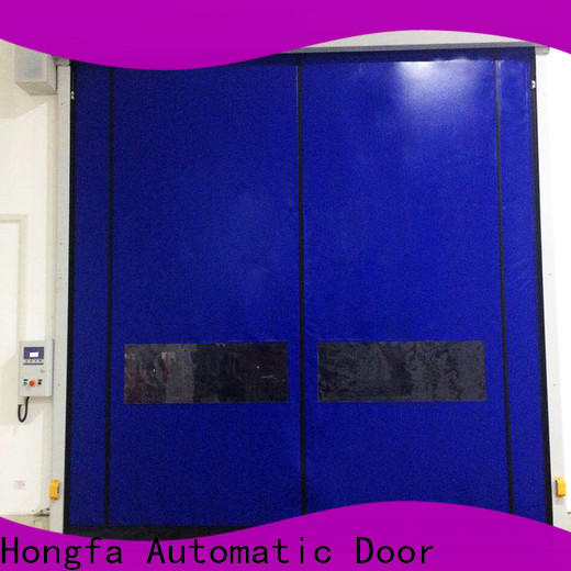 Hongfa new roll down metal doors manufacturers for food chemistry