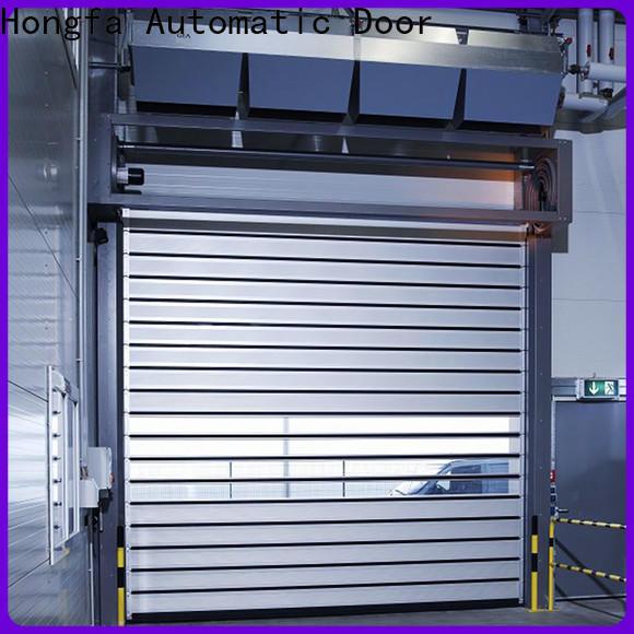 Hongfa fast spiral door company for industrial warehouse