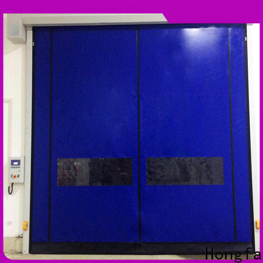 Hongfa speed aluminum roll up doors for business for supermarket