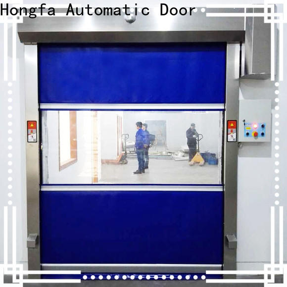 Hongfa door roll up security doors manufacturers for storage