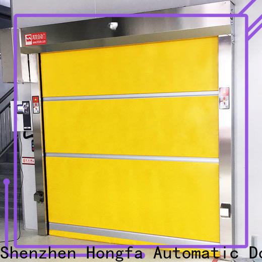 Hongfa pvc high garage door supply for factory