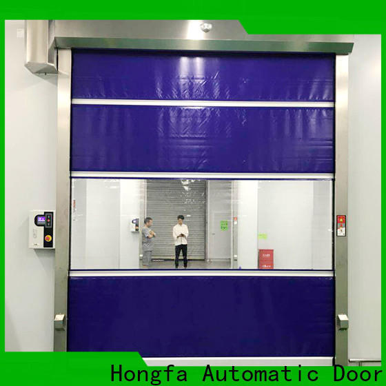 Hongfa top pvc roll up doors widely-use for warehousing