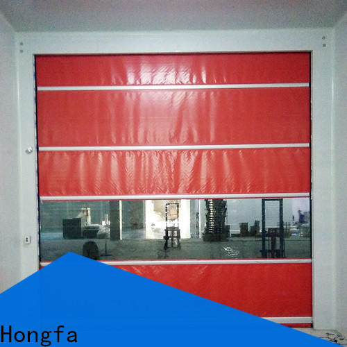 high-tech industrial door manufacturers plastic factory for warehousing