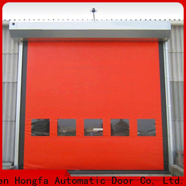 Hongfa perfect shop garage doors supply for cold storage room