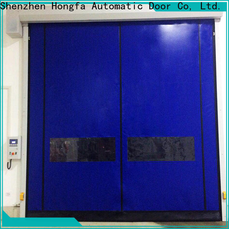 Hongfa latest 6ft roll up door factory for food chemistry