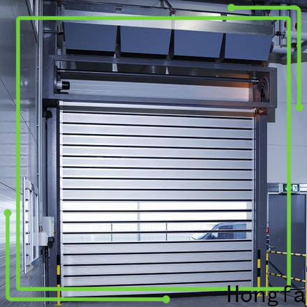 Hongfa wonderful security industrial fast door factory for cold room
