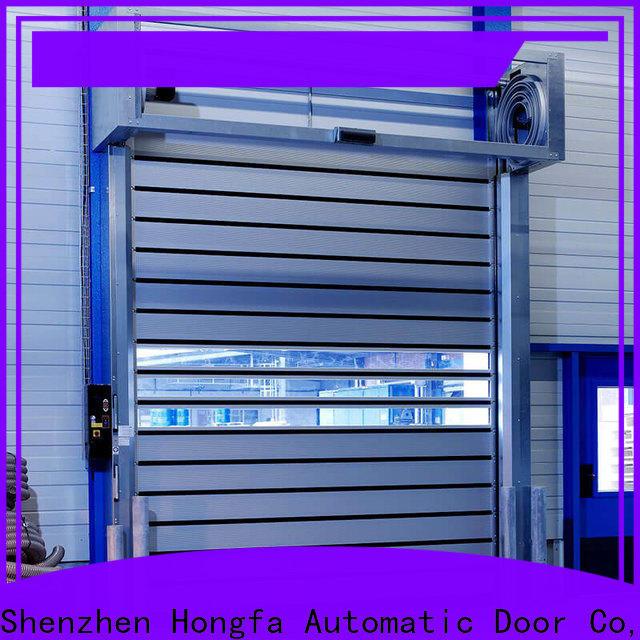 Hongfa wonderful commercial garage door supplier for parking lot