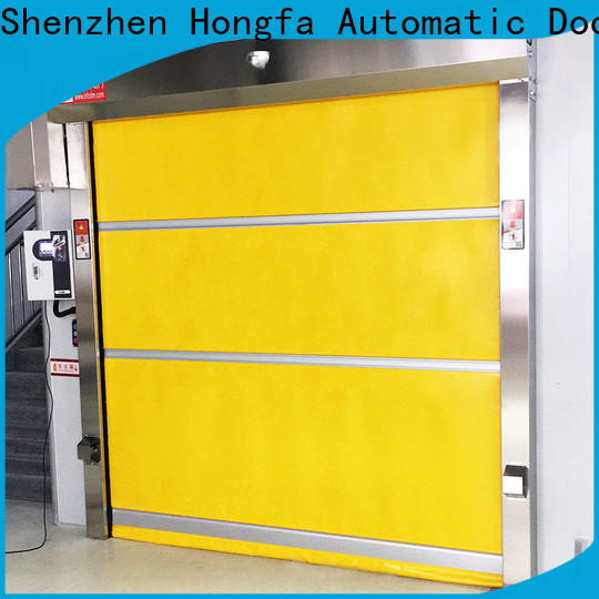 Hongfa roller industrial doors for sale in china for supermarket