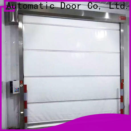 Hongfa curtain industrial automatic roll up doors overseas market for factory