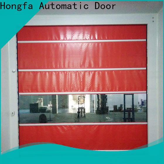 Hongfa flexible rapid action doors supplier for warehousing