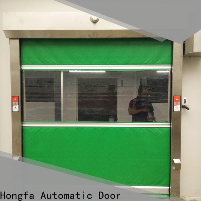 Hongfa safe industrial flexible doors in china for food chemistry textile electronics supemarket refrigeration logistics