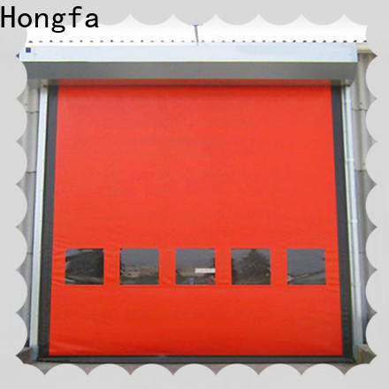 custom custom roll up door autorecovery supplier for cold storage room