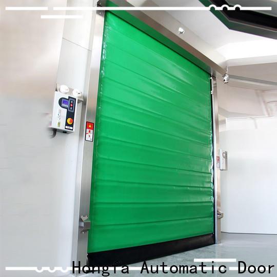 high-speed freezer room door foam popular for warehousing