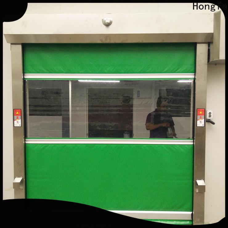 Hongfa automatic high speed garage door opener marketing for supermarket