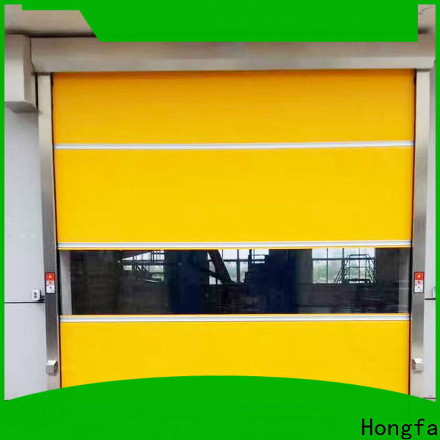 custom roll fast doors clear marketing for warehousing