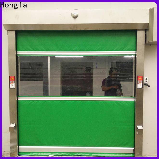 Hongfa oem union industries high speed doors marketing for supermarket