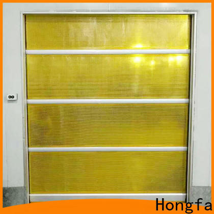 Hongfa plastic impact doors suppliers for storage