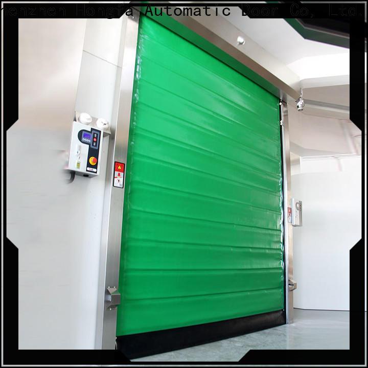 custom fast shutter door cold overseas market for food chemistry