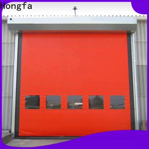 Hongfa good-looking 7x7 roll up door supplier for food chemistry
