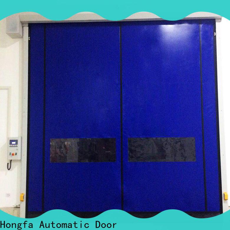 Hongfa selfrepairing 4 foot roll up door company for food chemistry