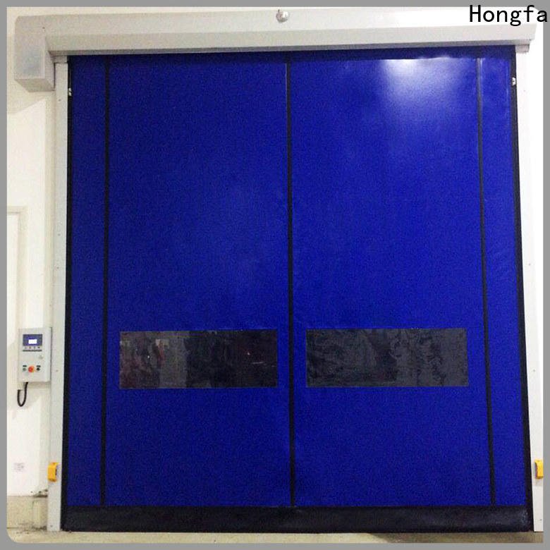 automatic insulated roll up door autorecovery for-sale for warehousing