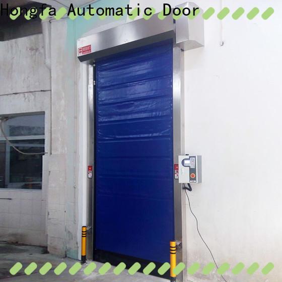 Hongfa foam high speed roll up freezer doors for business for supermarket