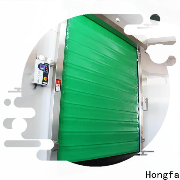 Hongfa safe cold storage door overseas market for warehousing