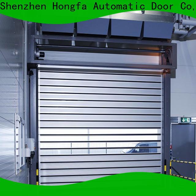 Hongfa top high speed spiral door for wholesale for industrial warehouse