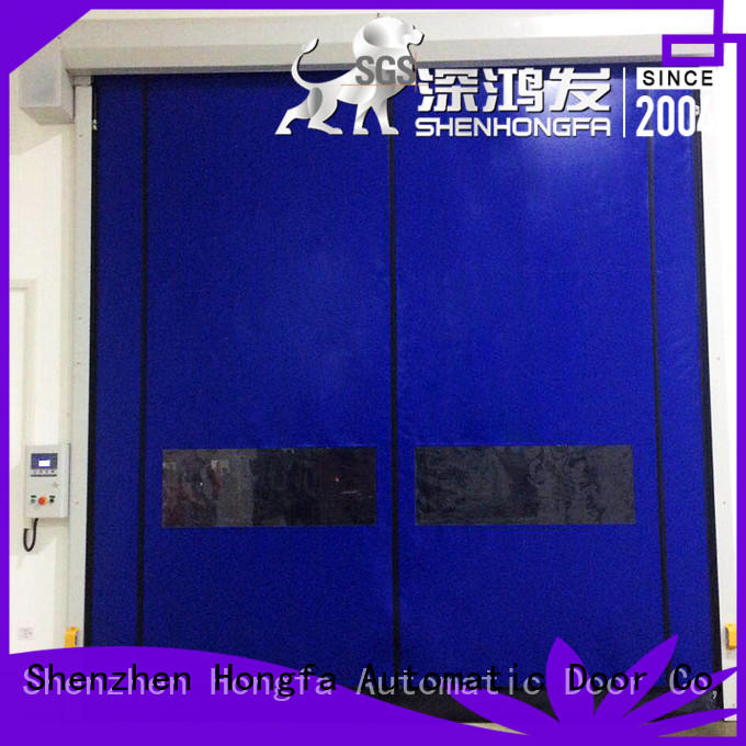 Hongfa perfect after-sale roller shutter doors speed for supermarket