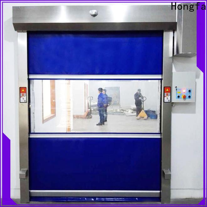 Hongfa room hangar doors supply for warehousing