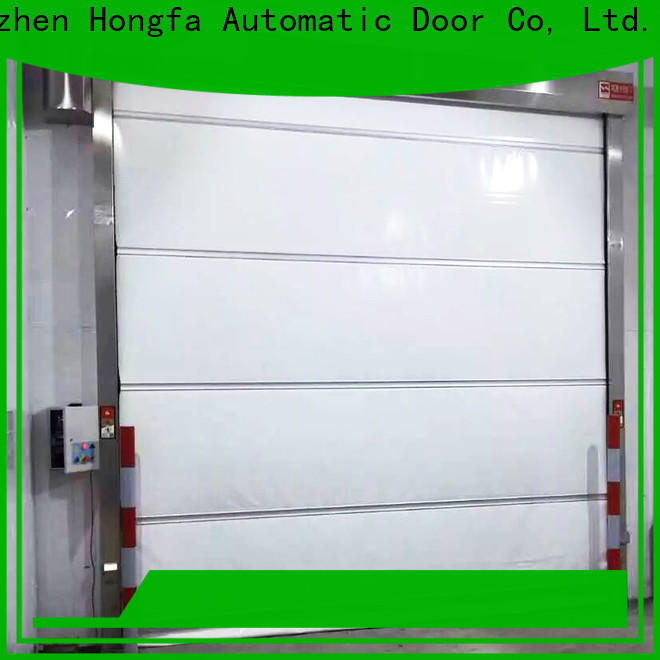 professional high speed door prices pvc for warehousing