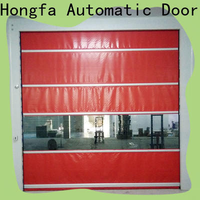 Hongfa fast dock door for business for storage