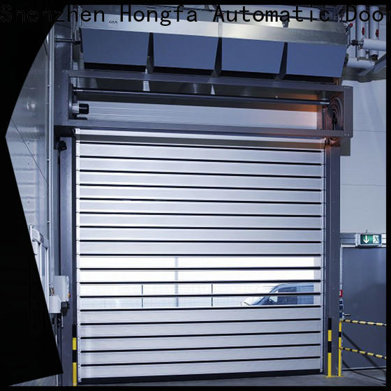 high-tech commercial garage door fast manufacturers for cold room