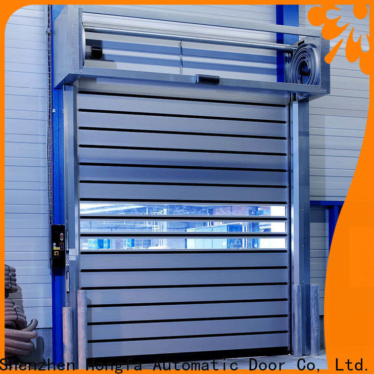 top security industrial fast door automatic for industrial warehouse