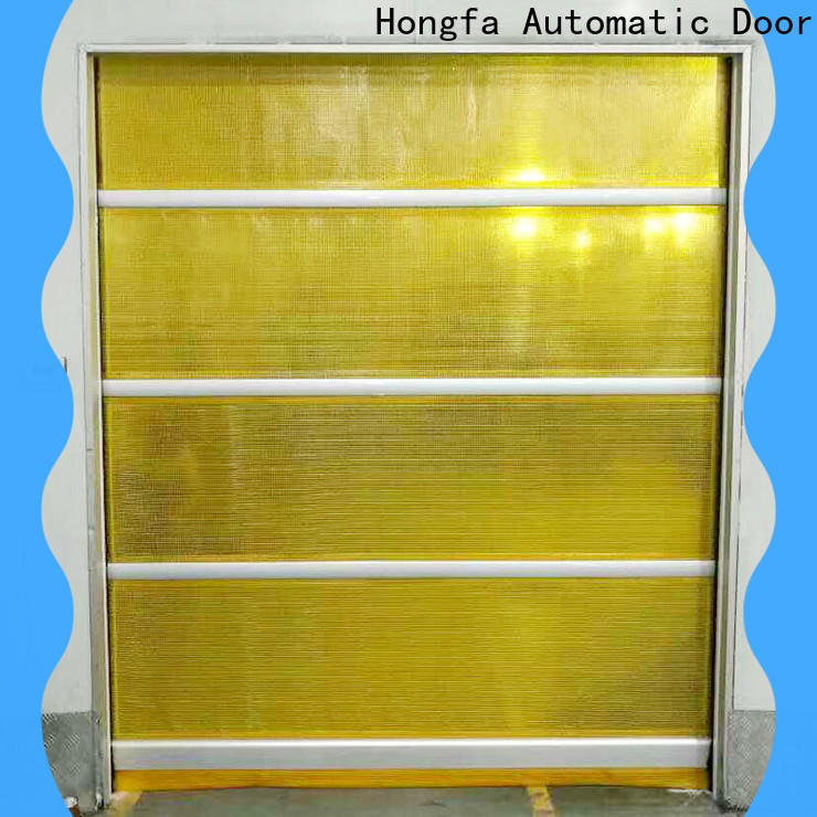 safe fabric door remote for warehousing