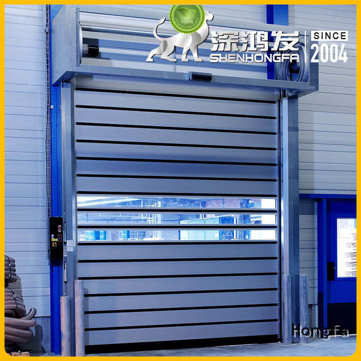 Hongfa wonderful spiral fast door for wholesale for cold room