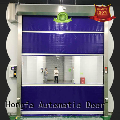 perfect security overhead door roll factory price for warehousing