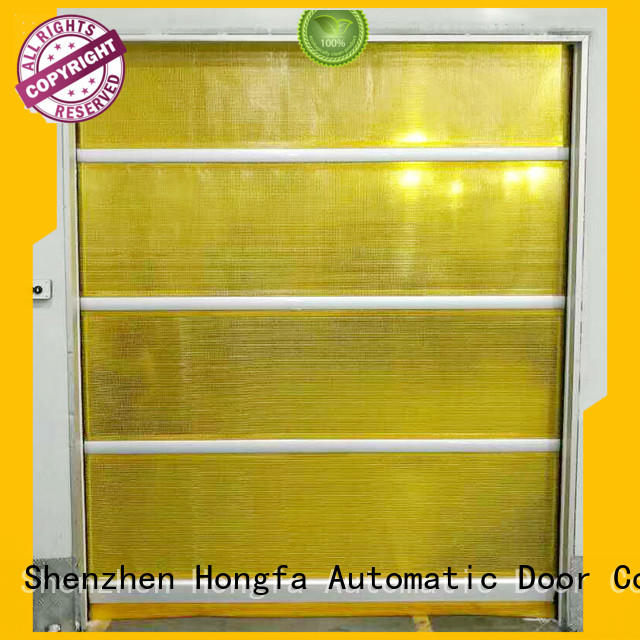 speed roll up door curtain industrial Hongfa company