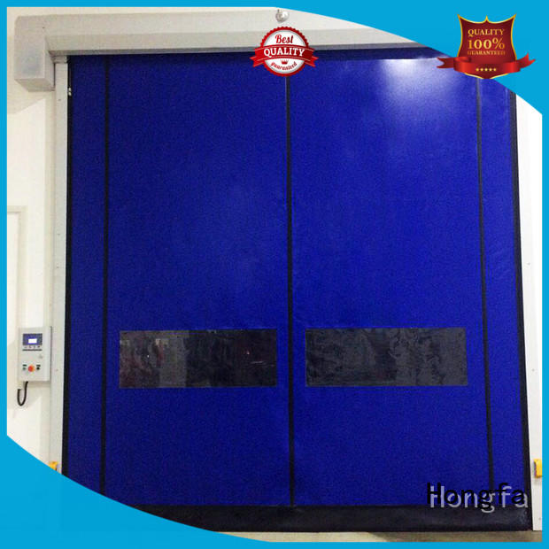 Hongfa speed roll up garage doors for sale type for food chemistry